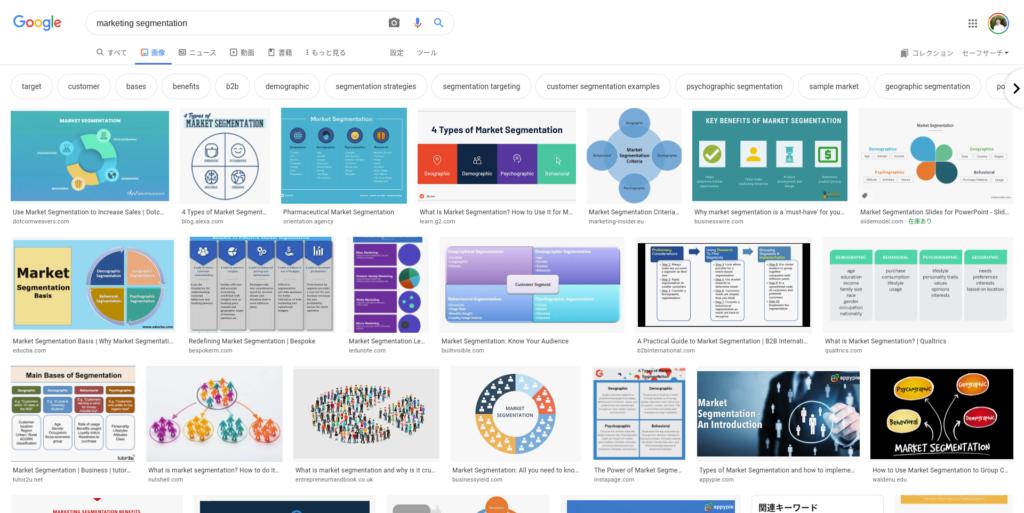 search-results-marketing-segmentation